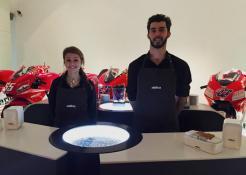 Presentazione team motoGP Ducati 2015