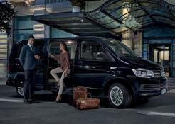 servizio fotografico Volkswagen Multi Van